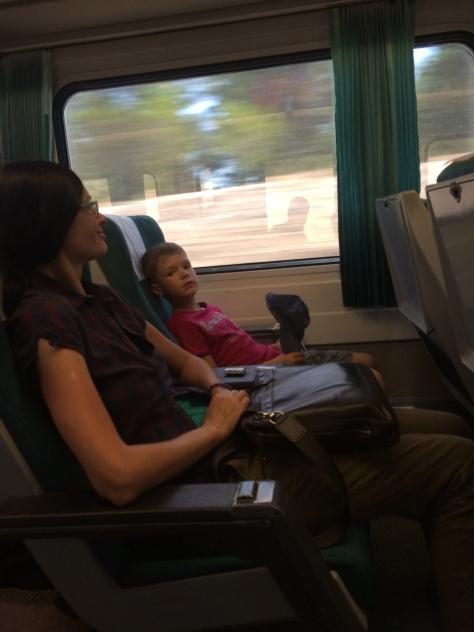 В поезде на Валенсию